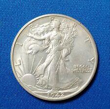 1942 S Walking Liberty Half Dollar * Choice BU  * EB50