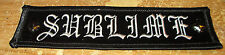 Sublime Collectable Rare Vintage Patch Embroided Early 2000'S Metal