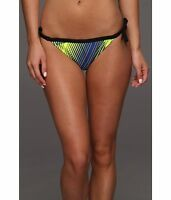 Nike Women's Electric Break Reversible Side Tie Bikini Bottom Hyper Blue 8 NEW