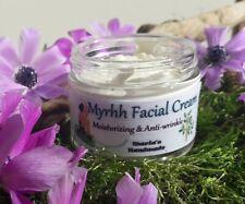 Myrrh & Galbanum Facial Cream, Glowing Skin, Tightener cream Face & Neck 40ml