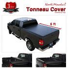 Soft Roll-Up Tonneau Cover Fit 94-03 S10/Sonoma 96-00 Hombre 6' Fleetside Bed