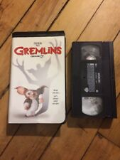 GREMLINS   VHS tape sci-fi movie clamshell horror GUC