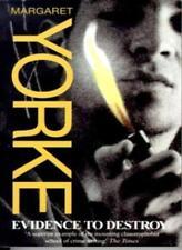 Evidence To Destroy,Margaret Yorke- 9780751525526