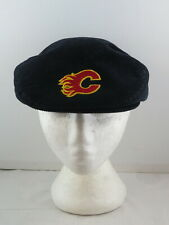 Vintage Calgary Flames Golf Hat - Corduroy Classic Ted Fletcher - Adult Snapback