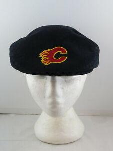 Vintage Calgary Flames Golf Hat - Corduroy Classic Ted Fletcher - Adult Snapback