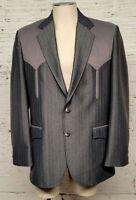 Circle S Ranch & Western Wear Men's Size 40R Blazer Suit Jacket