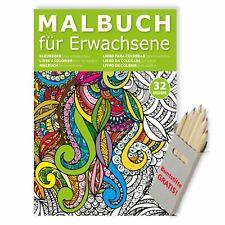 Malbuch für Erwachsene zur Entsp...