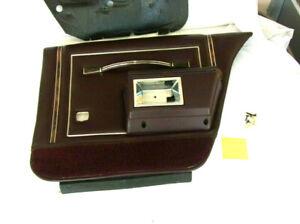 1987 OLDSMOBILE CUSTOM CRUISER WAGON REAR PASSENGER INTERIOR DOOR PANEL/ARMREST