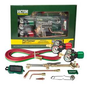 Victor 0384-2125 Performer 540/510 Edge 2.0 Acetylene Cutting Torch Outfit
