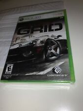 Brand New Sealed GRID XBOX 360 Live Microsoft Game 2008 Car Racing Codemasters