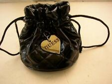 Guess, Black Faux Patent Leather Gift Bag or Child's Purse-Handbag