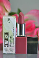 Clinique LIPSTICK STICK AND PRIMER IN ONE Plum Pop Lip Colour TRAVEL New In Box