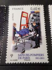 FRANCE 2011, timbre 4584 SAPEURS-POMPIERS, VEHICULE, neuf**, MNH FIREMAN