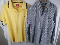 RM WILLIAMS Mens Stockyard Blue Brown Striped & Polo Shirt Mens L