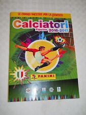 ALBUM FIGURINE CALCIATORI PANINI 2016-2017 COMPLETO