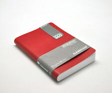 "Zequenz 360 Soft Bound Journal Notebook  Medium 5"" x 7"", Red , Lined 400 Pages"