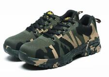 Mens Prevent Puncture Breathable Sneakers Work Boots Steel Toe Safty Shoes