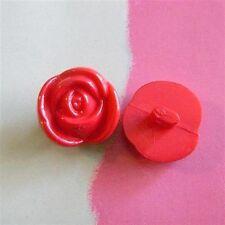 16mm ojales botones 20 botones flores niños botones
