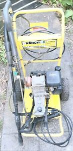 5.O HP HONDA KARCHER PRESSURE WITH NEW ALLOY WAND+TIPS & EXTRA NOZELS 2300 PSI,,