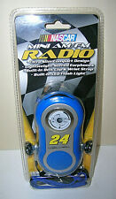 Jeff Gordon NASCAR Mini AM/FM Radio w/ Earphones - Flashlight - Belt Clip 2006