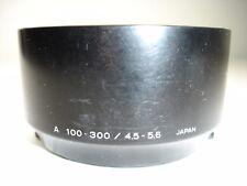 MINOLTA A 100-300 / 4.5-5.6 LENS HOOD for Minolta Maxxum AF lens, Genuine item