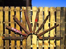 "48"" Rustic Metal Half Windmill Lawn/Garden Sculpture Yard Art Barn Wall Decor"