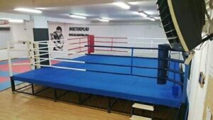 MMA Floor Ring Canvas Mat - for Wrestling, Boxing, Gymnastics & Martial Arts
