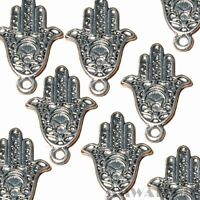 10 TIBETAN ANTIQUE SILVER ANGEL WINGS CHARM PENDANT BEADS SIZE 30mmx9mm TS64