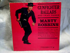 1959 MARTY ROBBINS Gunfighter Ballads SIGNED AUTOGRAPH 1349 columbia label LP