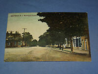 VINTAGE 1910 WESTWOOD WASHINGTON SQUARE    NEW JERSEY  POSTCARD