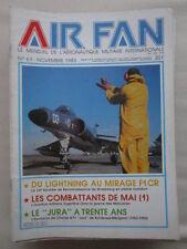 AIR FAN 61 CF-18 HORNET 33ème ESCADRE RECONNAISSANCE MALVINAS 4/11 JURA CROCI