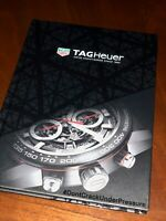 TAG HUER WATCH HARD COVER BOOK BROCHURE FROM 2016-2017
