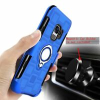 For Samsung Note 8 S8 S9 J5 J7 pro TPU Shockproof Ring Holder Stand Case Cover