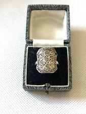 Georgian Silver Old Cut Diamond Ring