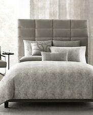 NEW Hotel Collection Eclipse Heather Grey KING Duvet Cover MSRP $420 - NICE!