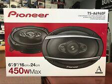 Pioneer TSA6960F 6X9 4‑Way 450 Watts TS-A Series Car Speakers TS-A6960 NEW