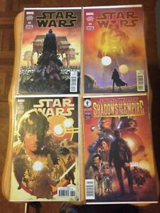 Star Wars - Comic Book Lot 14 Issues w/ Shadows of the Empire