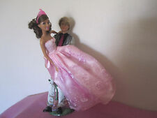 Barbie bulk lot x 7 - Ken, princesses, ballerina, fairy, Hairtastic, and more