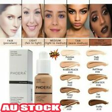 PHOERA Foundation Concealer Full Coverage Makeup Matte Brighten long lasting AX