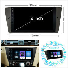 "9"" Para BMW E90 E91 E92 E93 Android 9.1 Cuatro Núcleos con GPS Nav 1+16G Enlace Espejo OBD"