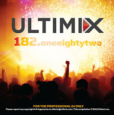 Ultimix 182 CD Ultimix Records Maroon 5 Cher Lloyd Taylor Swift Pitbull Rihanna