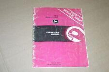 Jd John Deere 1408 roatary cutter Operators Manual