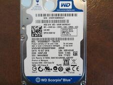 """Western Digital WD3200BEVT-75A23T0 DCM:HEMTJHB 2.5"""" 320gb Sata Hard Drive"""