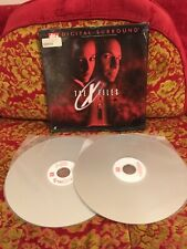 RARE  LaserDisc X-Files Movie DTS Digital Surround Laser Disc Sci-Fi Horror Cult