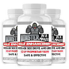 Male Enhancement Pills, Energy, Libido and Testosterone Booster  and More (10ct)