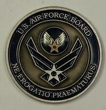 United States Air Force Board Air Force Corporate Structure Challenge Coin (34)