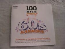 100 Hits from the 60's Karaoke (5) Cd + Graphics 2010 Demon Music Euc
