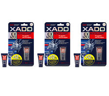 3 x 9ml Tubes XADO EX120 Revitalizant For Petrol and LPG Engines NEW LARGER PACK