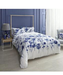 NIP Bluebellgray Corran Floral Full/Queen Comforter & Shams Set 3pc