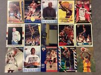 HALL OF FAME Basketball Card Lot 1991-20219 MICHAEL JORDAN LEBRON JAMES +